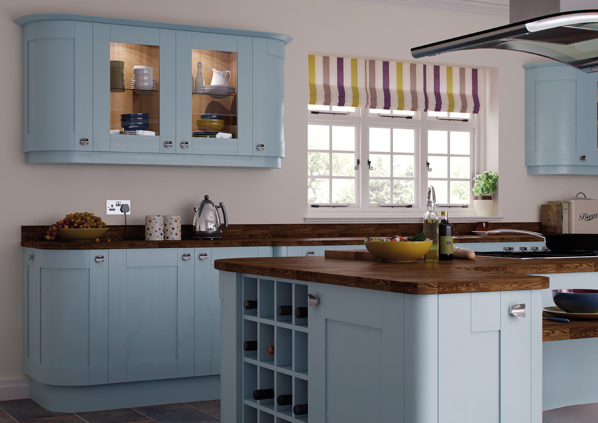 richmond duck egg blue - mls kitchens
