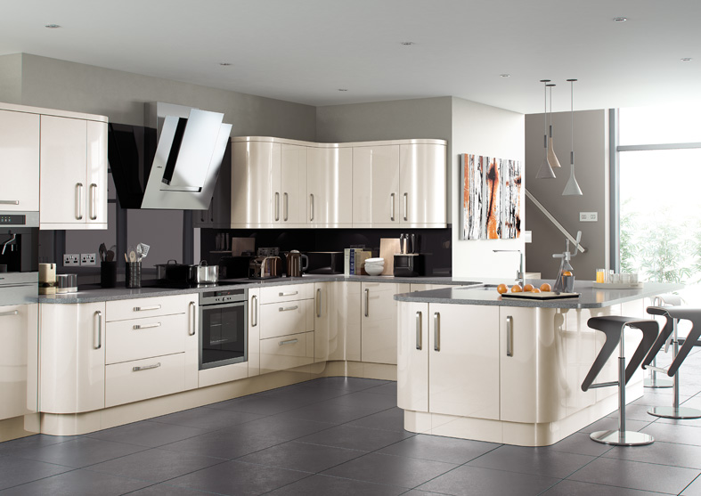 Lusso Cream Mls Kitchens