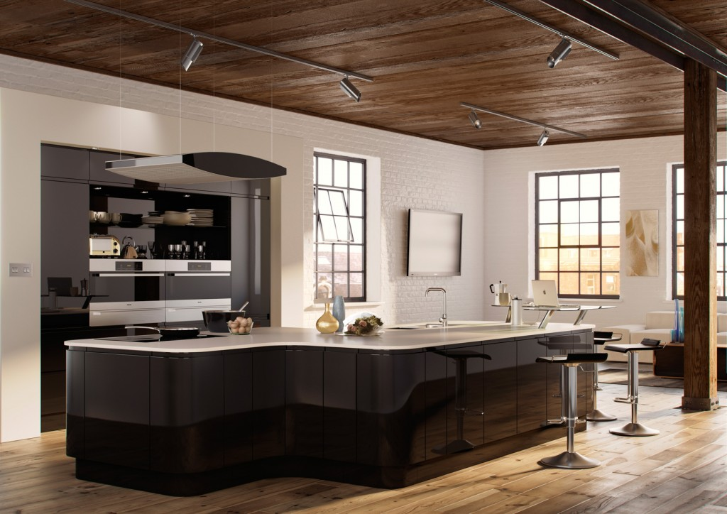 modern kitchen from MLS