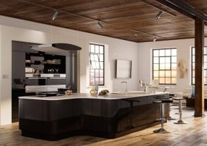 modern kitchen from MLS
